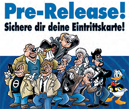 Pre-Release Party des LTB 506 - Tatort Entenhausen