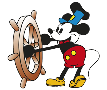 Micky Maus Steamboat