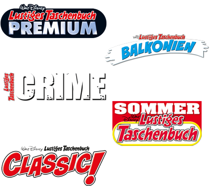LTB Premium 26, LTB Balkonien 1, LTB Crime 9, LTB Sommer 10 und LTB Classic Edition 7.