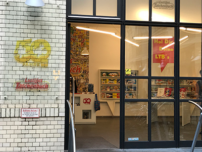 Der LTB Pop-Up-Store in den Hackeschen Höfen in Berlin